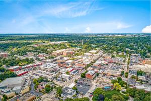 Land for Sale Naperville Aerial